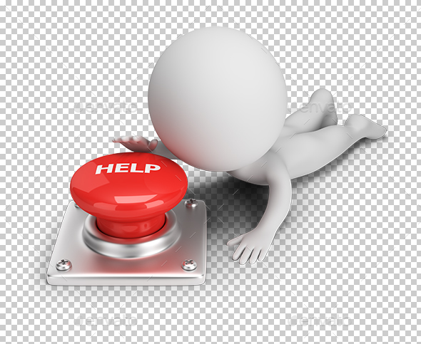 GraphicRiver 3D Small People Help Button 20287123