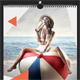 Creative Wall Calendar 2018 V19 - GraphicRiver Item for Sale