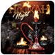 Hookah Party Flyer Template