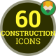 Architecture Construction House Industry - Flat Animated Icons and Elements - VideoHive Item for Sale
