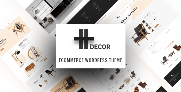 H Decor - Creative WP Theme for Furniture Business Online