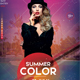 Summer Color - PSD Flyer Template - GraphicRiver Item for Sale