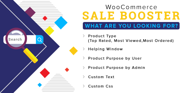 Woocommerce Sale Booster – What are you looking for (WooCommerce) images