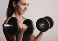 Working out with dumbbels - PhotoDune Item for Sale
