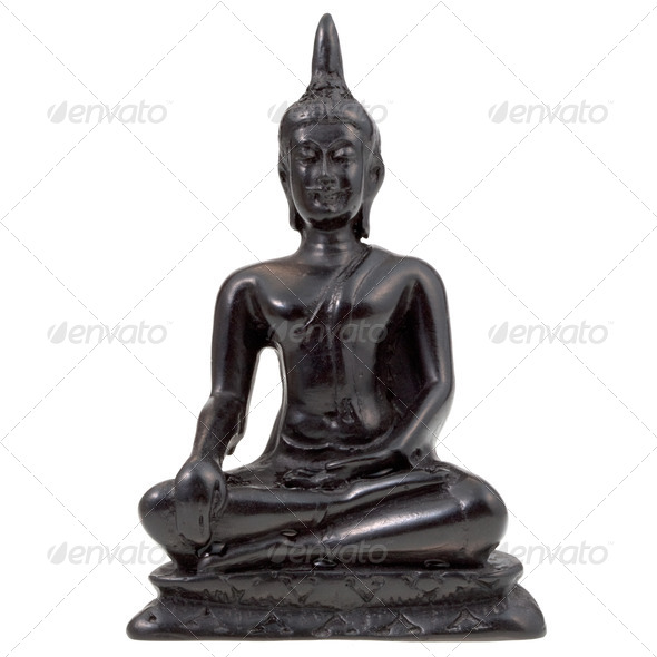 statuette of Buddha - Stock Photo - Images