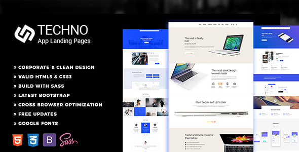 Multipurpose Landing Page HTML5 Template - Landing Pages Marketing