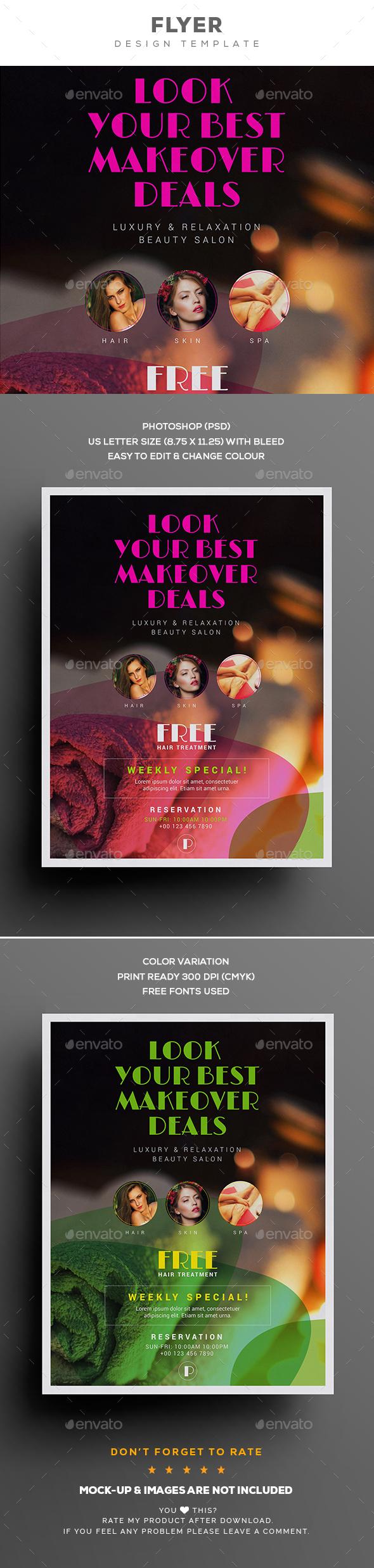 Beauty Spa Flyer - Corporate Brochures