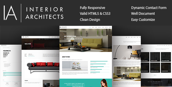 Interior Design \u0026 Architecture Template