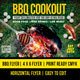 BBQ COOKOUT 2 Flyer Template - GraphicRiver Item for Sale