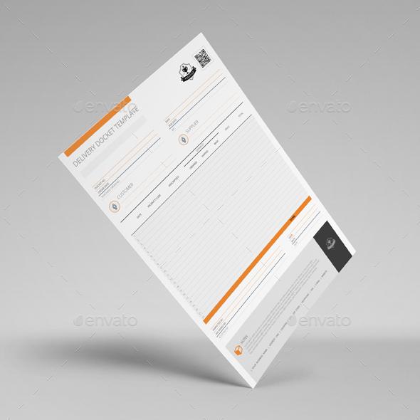 Delivery Docket Template   Kfea 1 ...  Delivery Docket