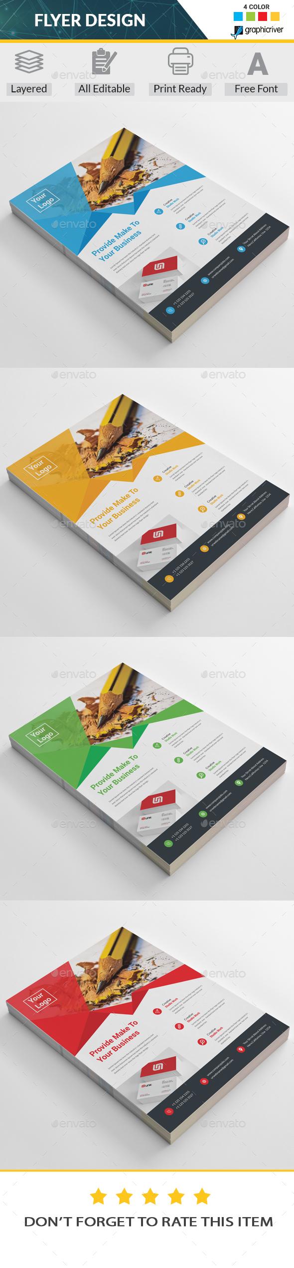 GraphicRiver Corporate Flyer 20288663