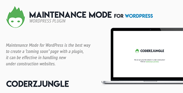 Maintenance Mode for WordPress - CodeCanyon Item for Sale