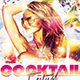 Cocktail Festival Flyer - GraphicRiver Item for Sale