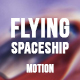 Flying Red Spaceship - VideoHive Item for Sale