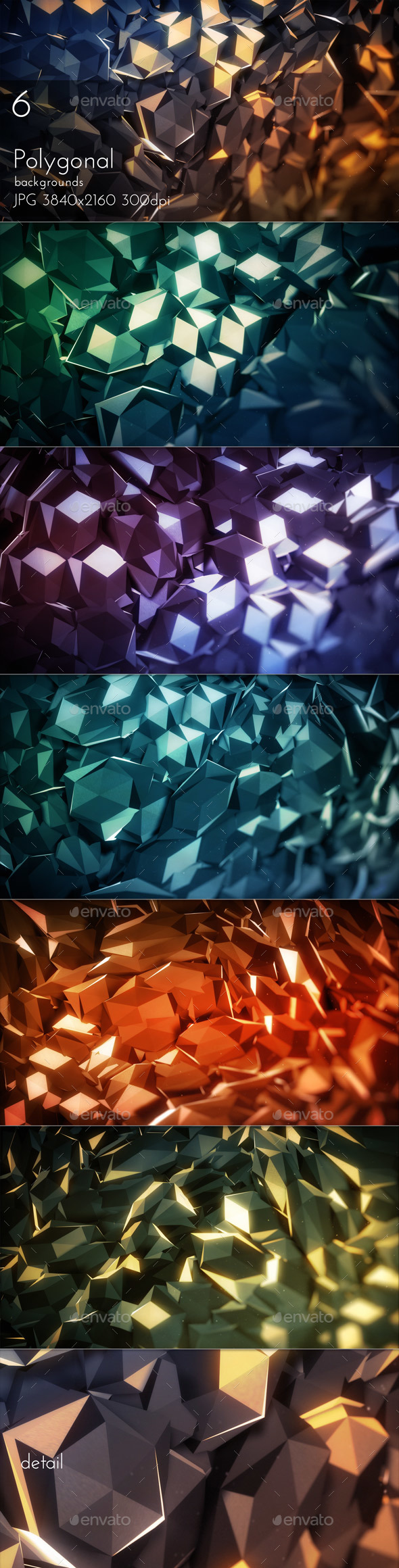 Polygonal Background