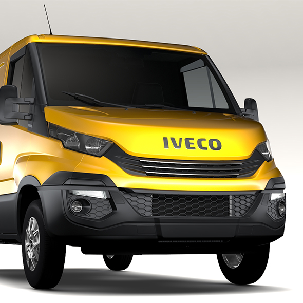 Iveco Daily L1H1 2017 - 3DOcean Item for Sale