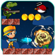 Yellow Boy Adventure, Admob banner & inters | share and review Button & Multi world