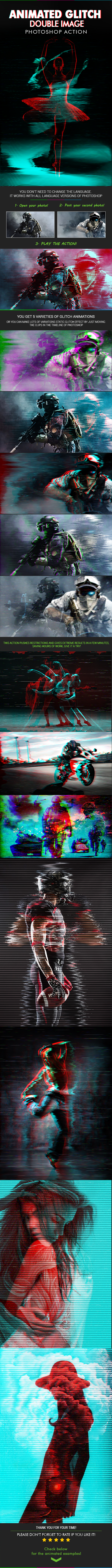GraphicRiver Animated Glitch Double Image 20289525