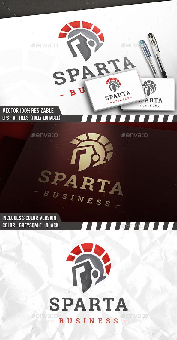 Spartan Helmet Logo - Humans Logo Templates