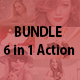 6 in 1 Bundle Action - GraphicRiver Item for Sale