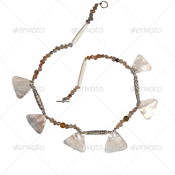 pearl beads - Stock Photo - Images