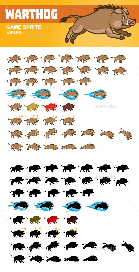 Warthog Game Sprite - Sprites Game Assets
