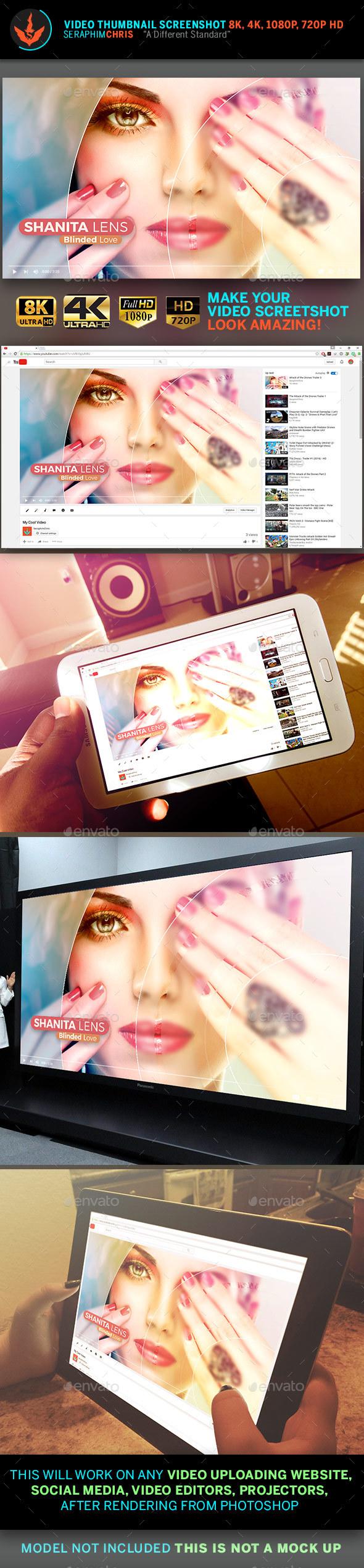 Circular Mask YouTube Video Artwork Template - YouTube Social Media