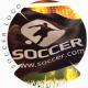 3D Football Flag Logo - VideoHive Item for Sale