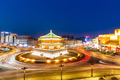 starting point of silk road, xian at night - PhotoDune Item for Sale