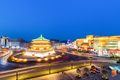 xian bell tower in nightfall - PhotoDune Item for Sale