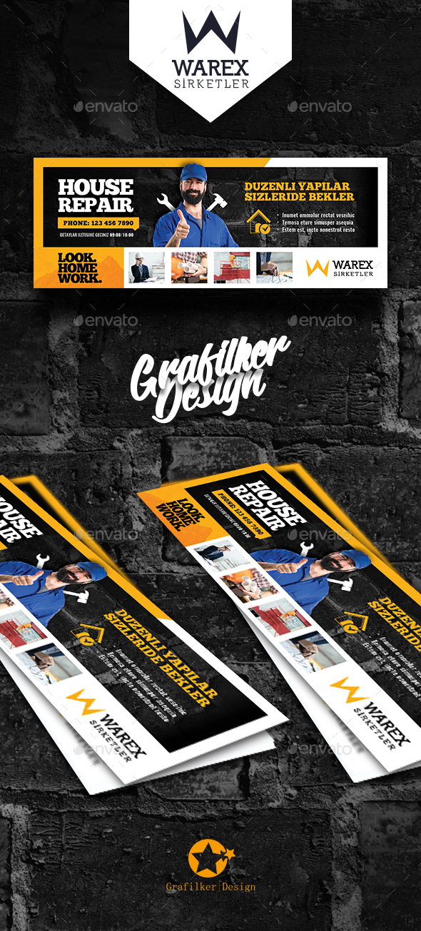 House Repair Cover Templates - Facebook Timeline Covers Social Media