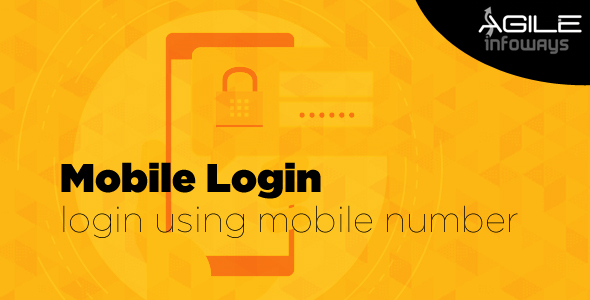 Login using Mobile number - CodeCanyon Item for Sale