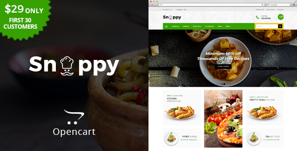 Snappy - Multipurpose OpenCart Theme - Health & Beauty OpenCart