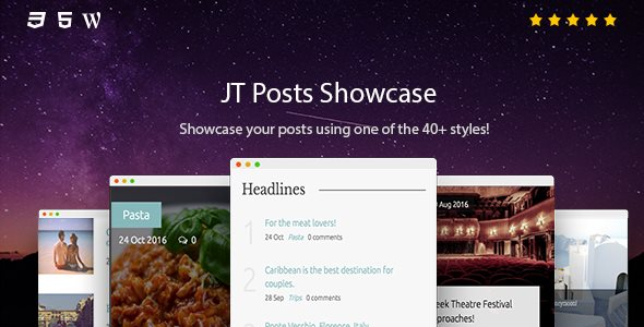 JT Posts Showcase - CodeCanyon Item for Sale