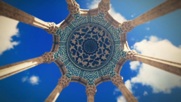 islamic architecture dome by handrox g videohive