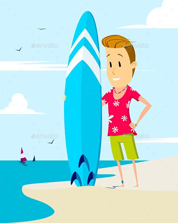 GraphicRiver Surfer 20290689