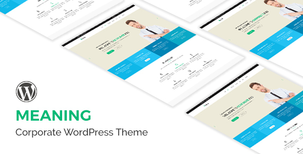 Meaning - Creative Multipurpose WordPress Theme - Marketing Corporate