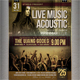 Acoustic Music Flyers / Poster - GraphicRiver Item for Sale