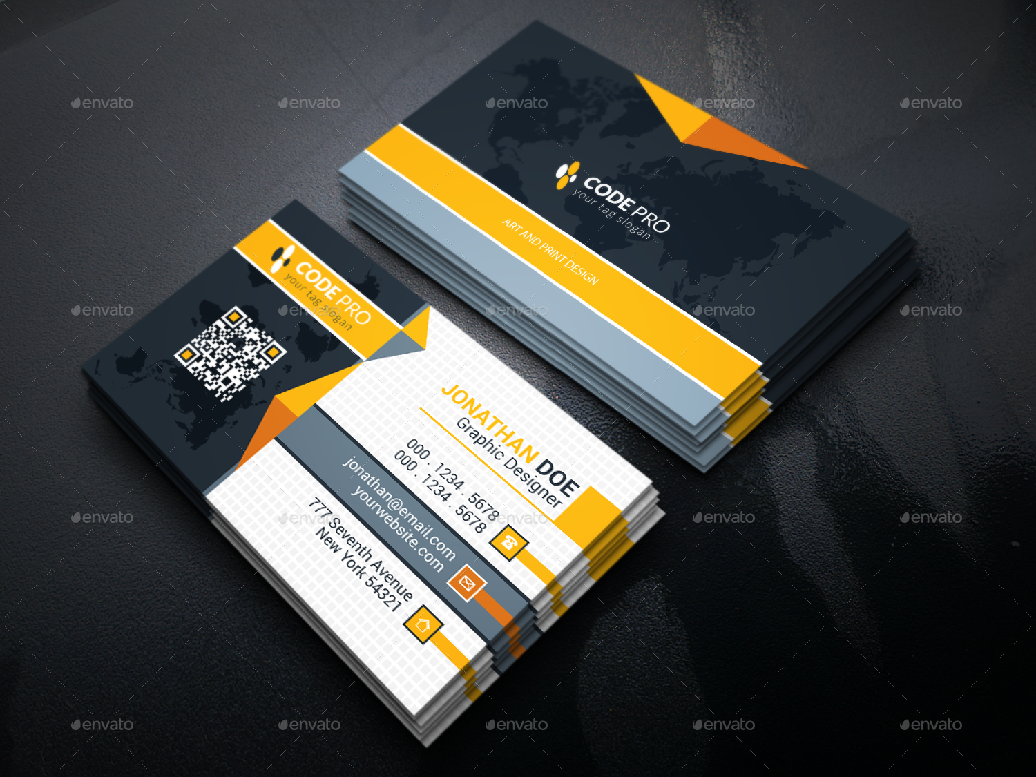 Corporate business card by i getup graphicriver corporate business cards preview image set01g magicingreecefo Choice Image