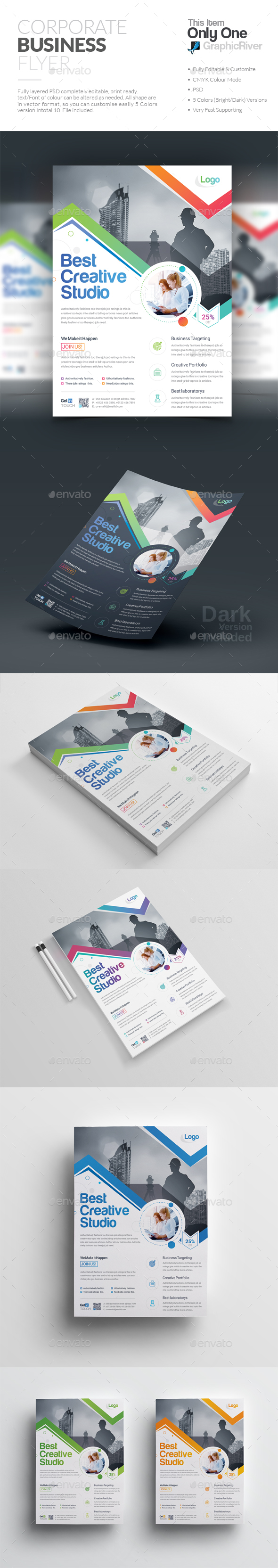 GraphicRiver Flyer 20291624