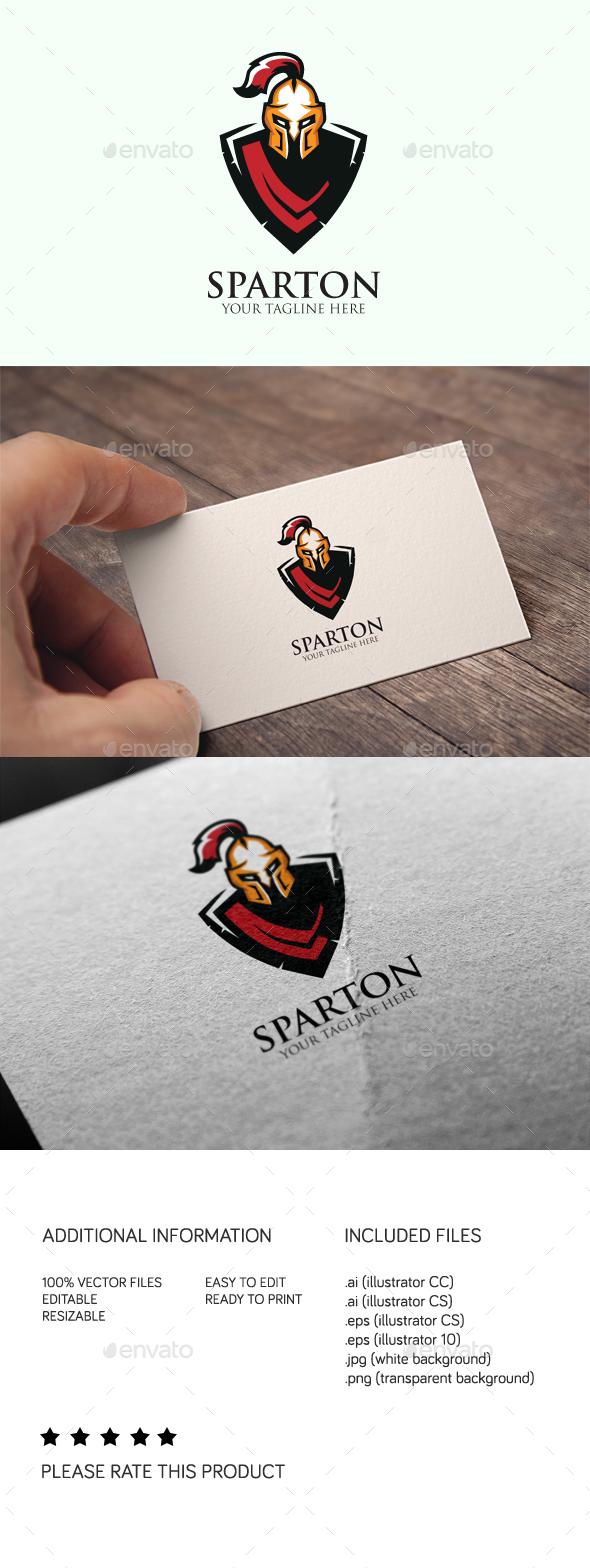 Sparton Logo - Humans Logo Templates