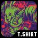 K.O Fight T-Shirt Design