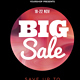 Big Sale Flyer Poster Template