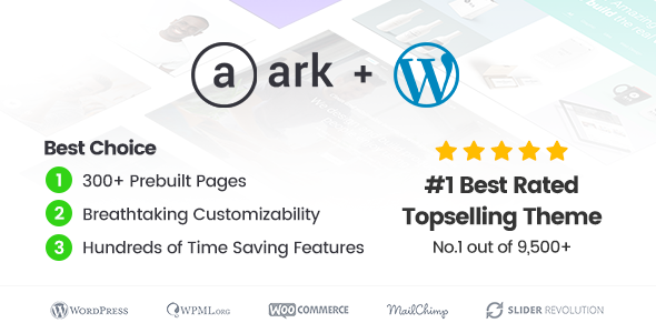 The Ark | Multi-Purpose WordPress Theme - Business Corporate