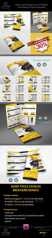 Hand Tools Catalog Brochure Bundle - Catalogs Brochures