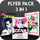 3 in 1: Flyer Pack - GraphicRiver Item for Sale