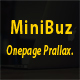 MiniBuz Onepage parallax Business Template - ThemeForest Item for Sale
