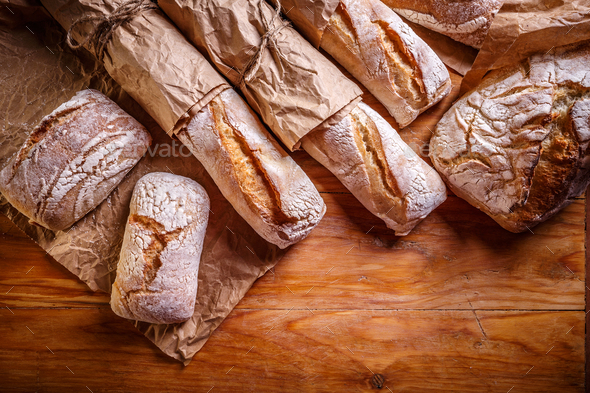 Different fresh breads - Stock Photo - Images