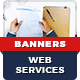 Web Service Banners - GraphicRiver Item for Sale