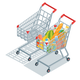 Isometric Shopping Carts - GraphicRiver Item for Sale